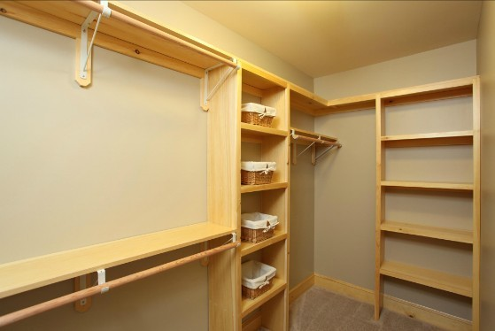 Custom Wood Closet Main Eco Homes