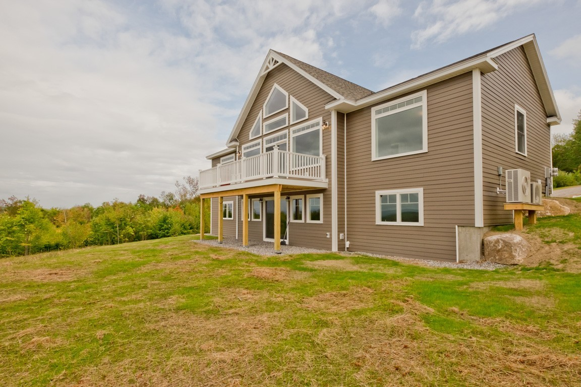 Ingalls hill bridgton main eco homes for Maine eco homes